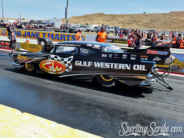 98eed24c6d5 ... of Top Doorslammer with the Gulf Western Oils double team of Victor and  Ben Bray rolling into Calder Park Drag Racing to take on the king of Top ...
